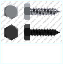 Hexagon  Type C  DIN 7976 Steel  Zinc Pl