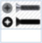 Cross Recess (Z)  Countersunk  DIN 965
