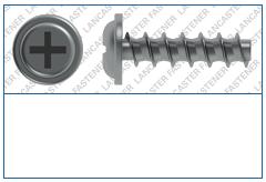 Cross Recess (H)  Flange  Plas-Tech 30 S