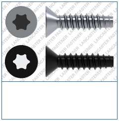 T-Drive  Countersunk  Plas-Fix 45 Screw