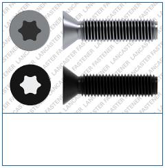 T-Drive  Csk  DIN 965  Micro Screw  Grad
