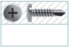 Cross Recess (H)  Pan  DIN 7504  FORM N