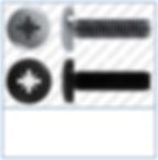 Cross Recess (Z)  Pan  DIN 7985  Micro S