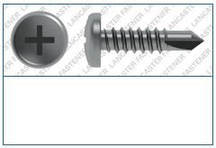 Cross Recess (H)  Pan  DIN 7504  FORM M