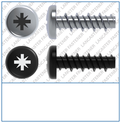 Cross Recess (Z)  Pan  High-Low Screw  S