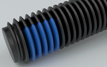 NYLOK® 180° TUF-LOK® Blue Patch on Black Finished Machine Screws