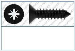 Cross Recess (Z)  Countersunk Type C  DI