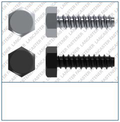Hexagon  Type F  DIN 7976 Steel  Zinc Pl