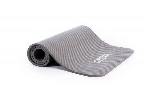 Коврик для фитнеса PROFI-FIT ,12 мм,СОФТ ЛАЙН (серый)