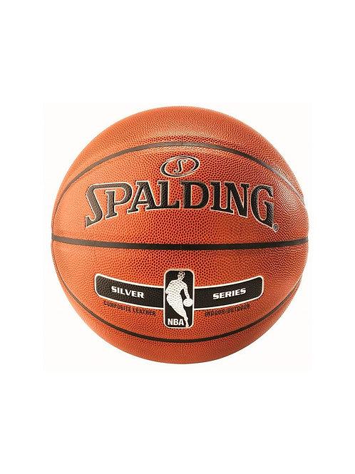 Мяч б/б NBA SILVER SER I/O, размер 7,композитная кожа