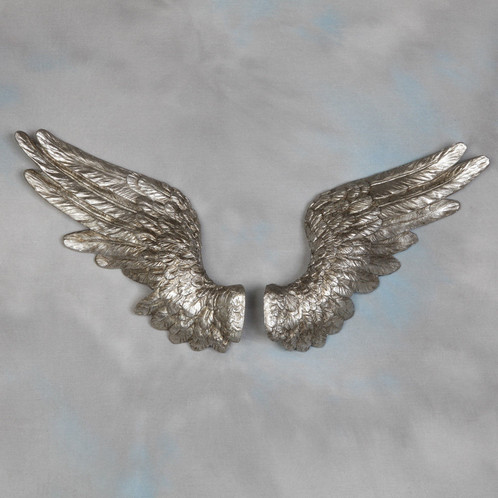 Stunning Pair Of Antique Silver Angel Wings Wall Decor They Look Absolutely  Stunning On The Wall And Have Become A Very Popular Product.