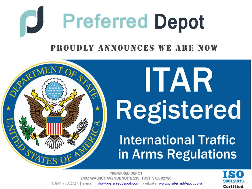 ITAR Registered Company U.S. Market Consulting