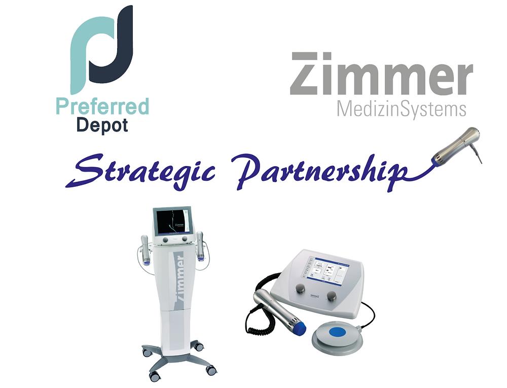 Strategic Partnership with Zimmer MedizinSystems
