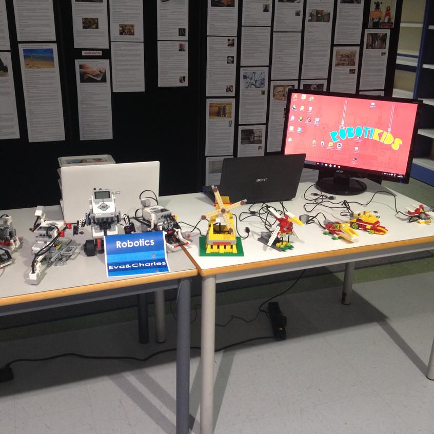Robotikids en el Colegio Británico d