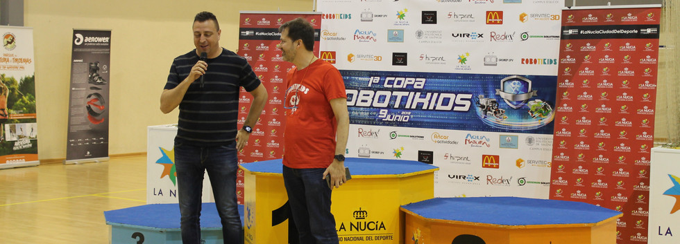 Copa Robotikids / Podium