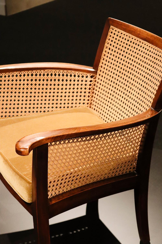 Silla dissenyada por Adolf Loos