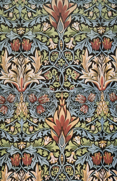 William Morris wall paper design