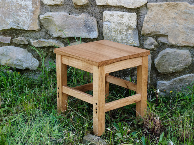 Students exercise: stool