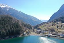 Foto 8 - Blick von See Richtung Brusio m