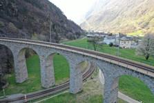 Foto 4 - Brusio Kreisviadukt mit Blick R