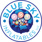 Blue Sky Inflatables Candy Logo