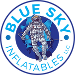 Blue Sky Inflatables Space Logo