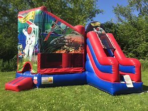 Space Camp Moon Bounce & Slide