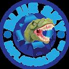 Blue Sky Logo T-Rex