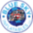 Blue Sky Inflatables Firetruck Logo