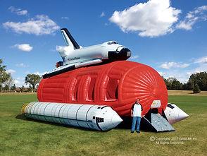 Space Camp Moon Bounce & Dual Slide