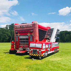 Fire Staion Bounce & Slide Rental