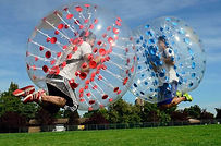Inflatable and bubble ball rentals in Southeastern Wisconsin