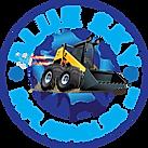 Blue Sky Logo Skid Loader