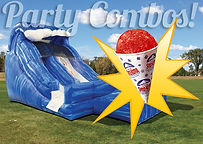 Party Combo Inflatable Rental Bouce House