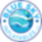 Blue Sky Inflatables Wave Logo