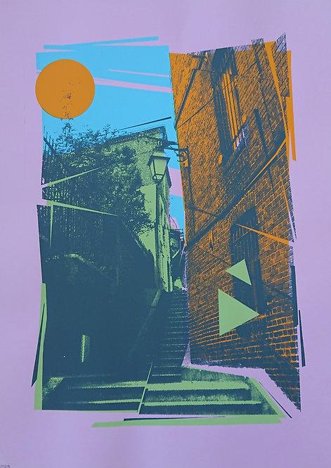 """""""Paysage urbain n°5"""" par Mr Kitsh"""