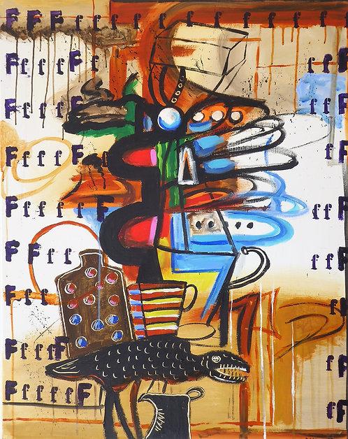 """""""Fantasmes et apparences outrées"""" par Jean-Jacques Ecorce"""