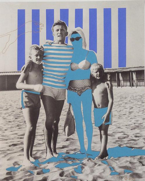 """""""Kirk à la plage"""" par Patrick Cambolin"""