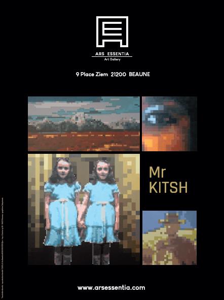 Affiche Mr Kitsh 60x80cm