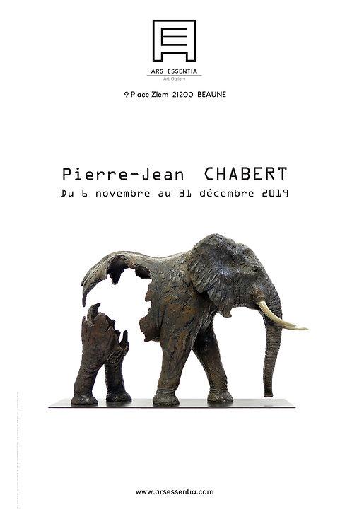 Affiche P.J. Chabert 40x60cm