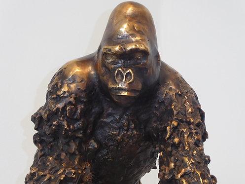 """"""" Gorille"""" bronze par JEAN-NO"""
