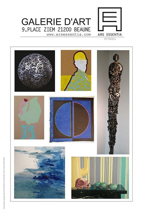 Affiche Ars Essentia (2) 40x60cm