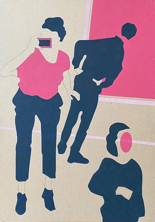 """""""Soir de vernissage"""" par Patrick Cambolin"""