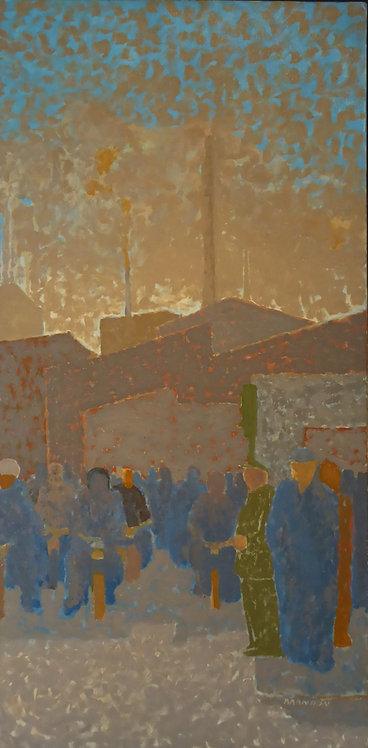 """""""La sortie de l'atelier"""" par Frederic Brandon"""