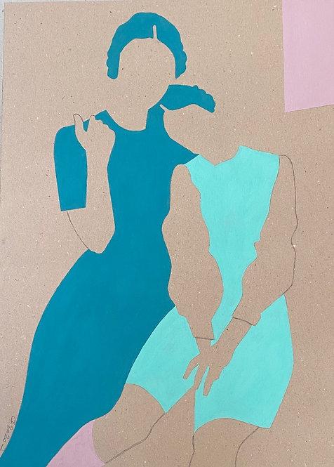 """""""Mère & fille"""" par Patrick Cambolin"""