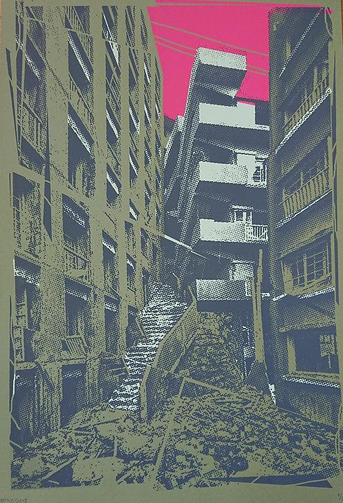 """""""Paysage urbain n°2"""" par Mr Kitsh"""