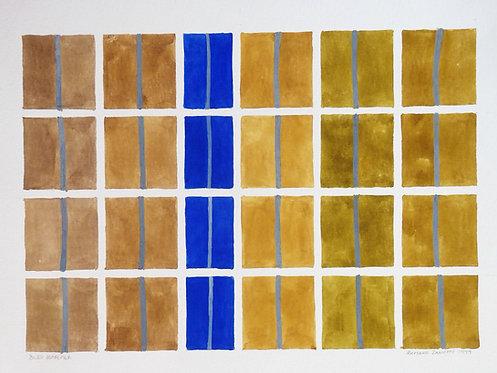 """Bleu outremer"" par Romano Zanotti"