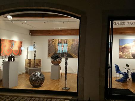 Un projet : Ars Essentia, une galerie d'art contemporain à Beaune en Bourgogne.