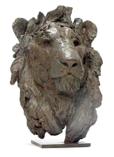 """""""Tête de lion"""" par Pierre-Jean CHABERT"""