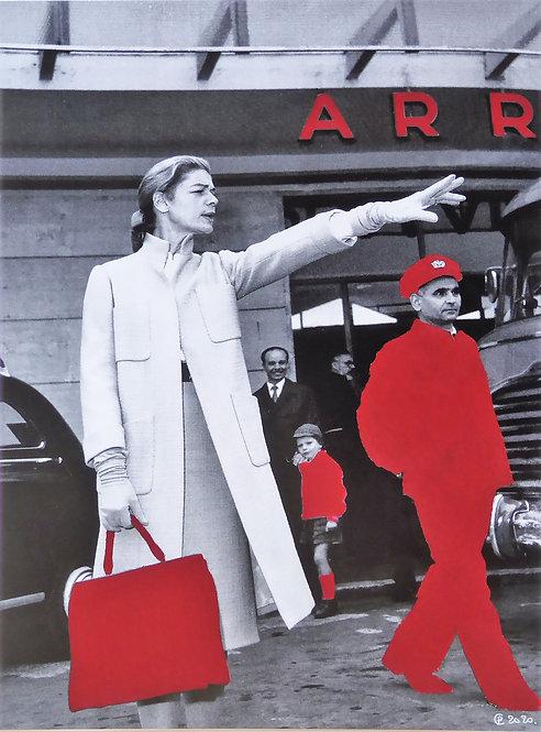 """""""J'ai acheté mon sac rouge à Moscou"""" par Patrick Cambolin"""